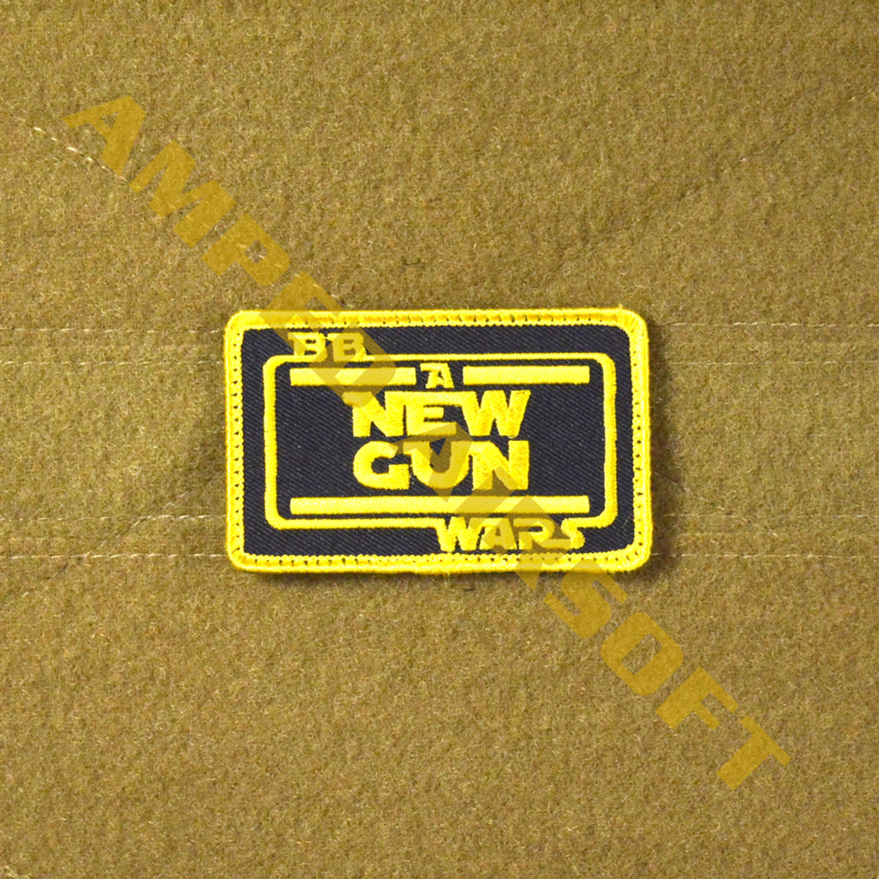 Amped Custom - BB Wars Patch - A New Gun (Full Color)