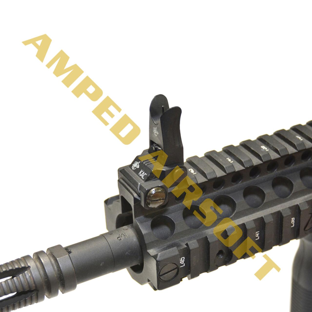 Knights Armament Airsoft - Back Up Iron Sights (Black)