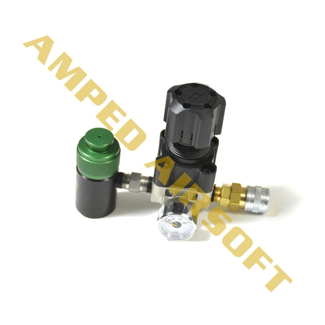 Amped Airsoft HPA SLP Regulator Side shot