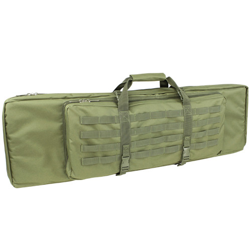 Condor - 42 Inch Double Rifle Case (Olive Drab) Without Pouches Installed