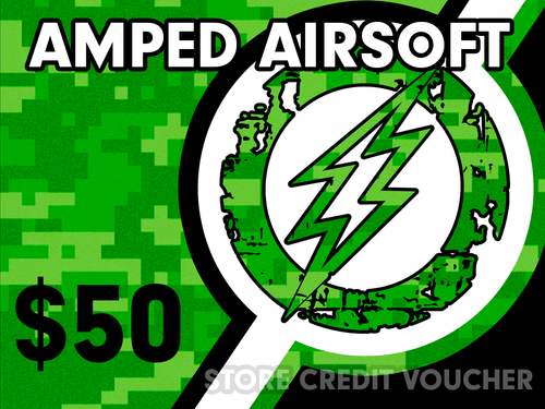 Amped Airsoft Gift Card! | $50.00