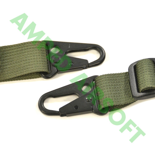 LBX Tactical - 2 Point Sling (Woodland) Buckles