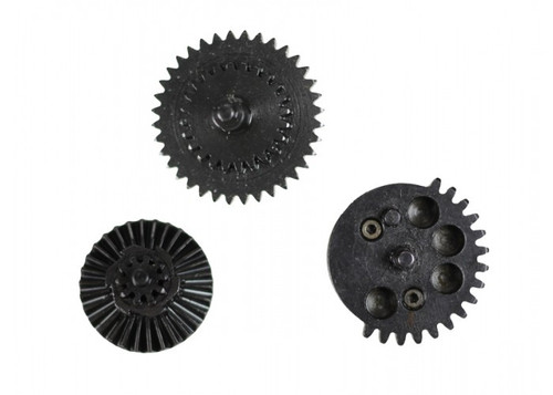 SHS - CNC Gen3 12:1 Standard Gear Set with 10 Tooth Sector Reverse Side