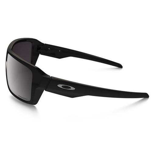 e428a58630884 ... Oakley - Double Edge (Polished Black Frame w  Prizm Black Polarized  Lens) Side ...