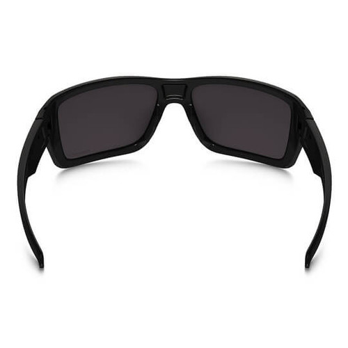e98acf9fbc6 ... Oakley - Double Edge (Polished Black Frame w  Prizm Black Polarized  Lens) Back