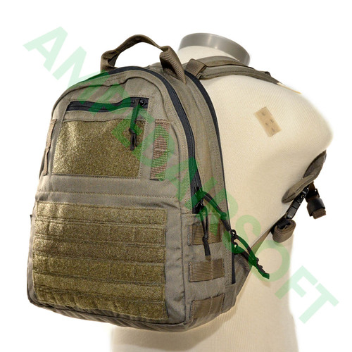 LBX Tactical - Minimalist Pack (Mas Grey) On Back
