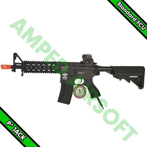 Amped Custom HPA Starter Rifle - G&G CM16 Raider Short (Black) with JACK Standard