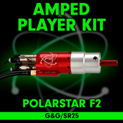 Amped Airsoft - PolarStar F2 (G&G SR-25) Player Kit
