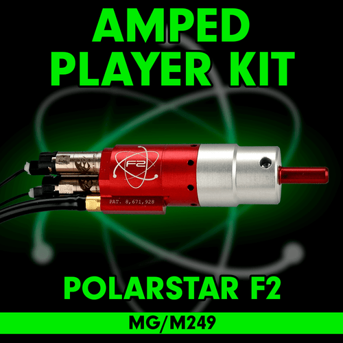 Amped Airsoft - PolarStar F2 (MG M249) Player Kit