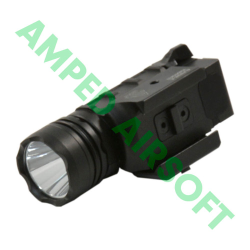 Leapers - UTG 400 Lumen Sub-Compact LED Ambi Pistol Light (Black)  Top View