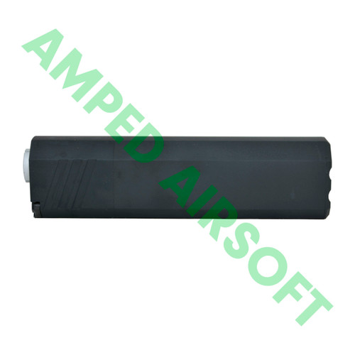 "SilencerCo - Osprey 45-K Mock Suppressor (6"" / Black / CCW) Side View"