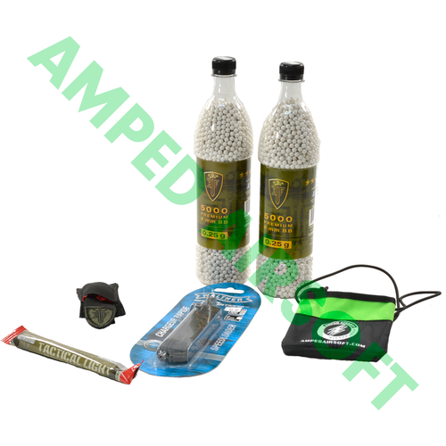 Amped Bundle - Essentials .25g Bundle with Dead Rag Collapsed