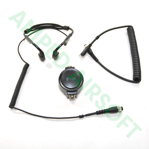 Code Red Headsets - Battle Zero-K Tactical Bone Conduction Headset (Kenwood Radios with a two pin connector)