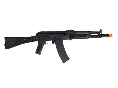 CYMA - CM047D Full Metal AK102 with Side Folding Full Stock AEG (Polymer Furniture / Black) Right Side