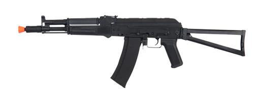 CYMA - AK74 AK105 Full Metal Airsoft AEG Rifle with Steel Folding Stock (Polymer Furniture / Black)