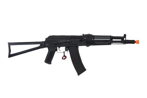 CYMA - AK74 AK105 Full Metal Airsoft AEG Rifle with Steel Folding Stock (Polymer Furniture / Black) Right Side