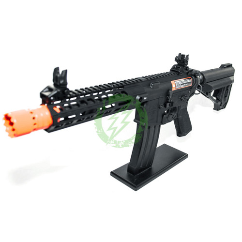 Amped Custom HPA Rifle VR16 Avalon Series Saber CQB GEN2  | Black Left Profile