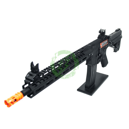 Amped Custom HPA Rifle VR16 Avalon Saber Carbine GEN2 | Black Left Profile