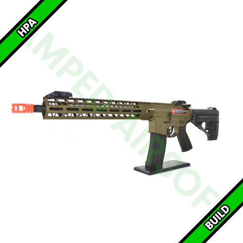 Amped Custom HPA Rifle VR16 Avalon GEN2 Saber Carbine | TAN