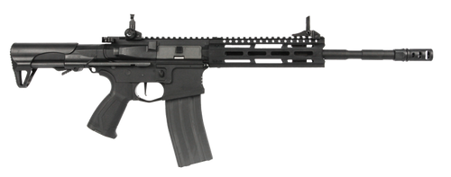 G&G - Combat Machine CM16 Raider 2.0E Long (Black) Wired to Deans Right Side