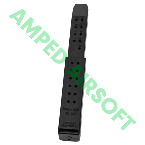 Krytac - KRISS USA Licensed Kriss Vector AEG Magazine (95rd / Black) Back