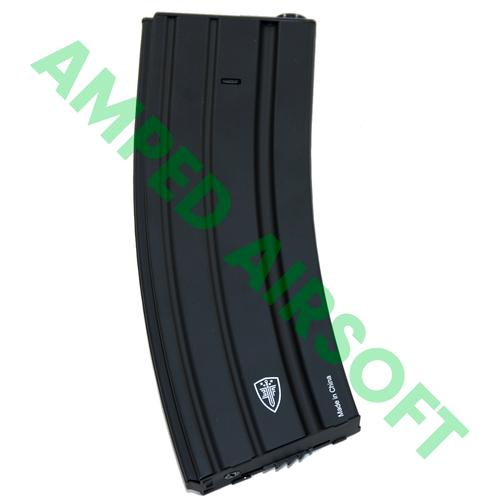 Umarex - Elite Force - M4/M16 Airsoft Magazine (300rd / Black) Right Side