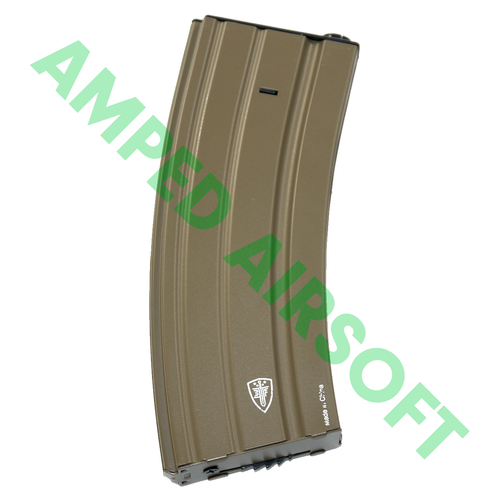 Umarex - Elite Force - M4/M16 Airsoft Magazine (300rd / Tan) Right Side
