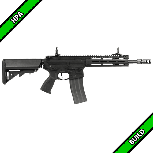 Amped Custom HPA Rifle - G&G CM16 Raider 2.0 Short (Black)
