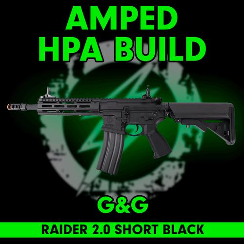 Amped Custom HPA Rifle - G&G CM16 Raider 2.0 Short (Black)  cover
