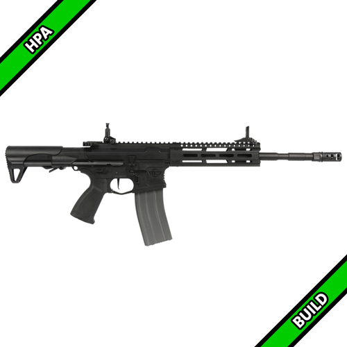 Amped Custom HPA Rifle - G&G Raider 2.0E Long (Black)