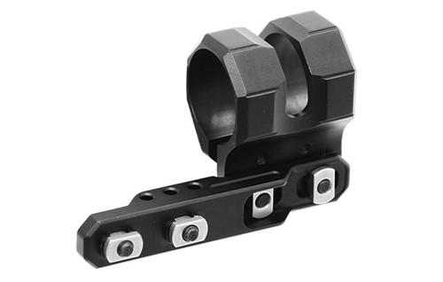 Leapers - UTG - M-LOK Offset Flashlight Ring Mount (Matte Black) M-Lok Attachment Points