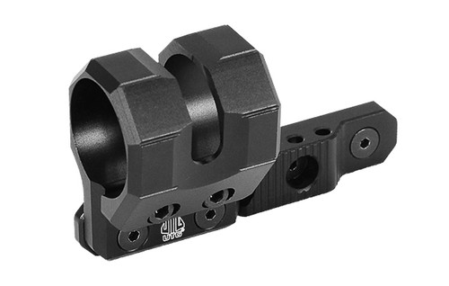Leapers - UTG - Keymod Offset Flashlight Ring Mount (Matte Black)