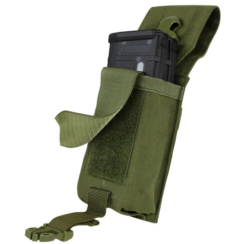 Condor - Universal Rifle Mag Pouch (Olive Drab) Velcro Silencer
