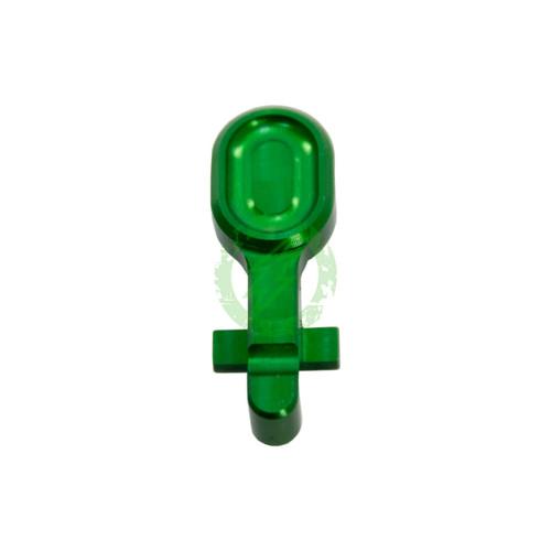 RETRO Arms - CNC Aluminum Bolt Catch for AR15 (Type A / Green)