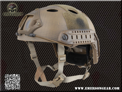Emerson - Bump Type Tactical Airsoft Helmet (PJ Type / Advanced / Navy Seal)