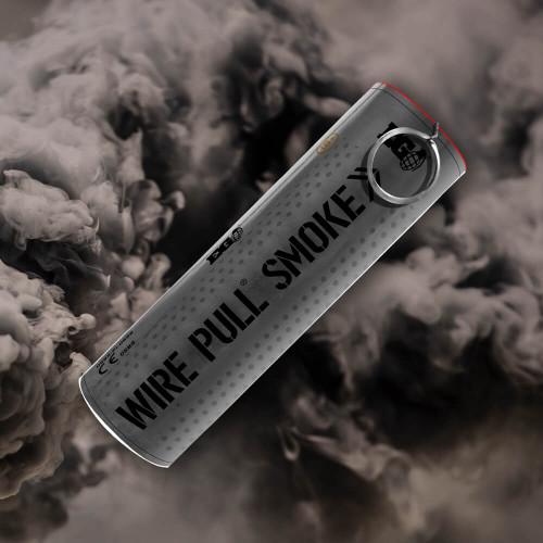 Enola Gaye Wire Pull Smoke Grenade | Black Smoke Plume