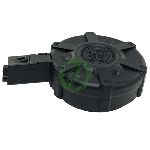 G&G - ARP 9 Drum Magazine (1500 Rounds / Black) Back