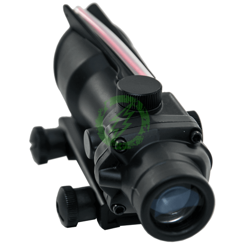 G&P Tactical 4x32 Rifle Scope for Airsoft (20mm Weaver QD Mount) Front