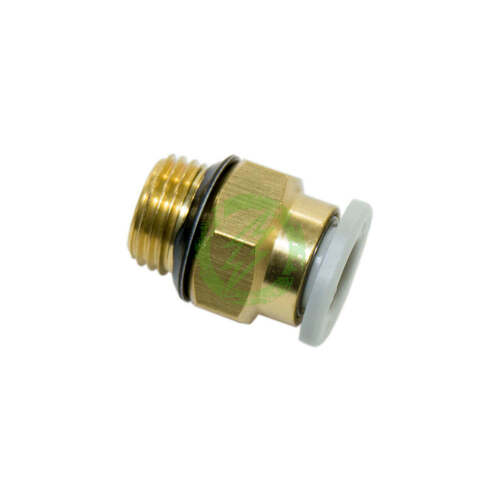 "HIS SMC 4mm Tube QD 1/8"" NPT Male Fitting Profile"