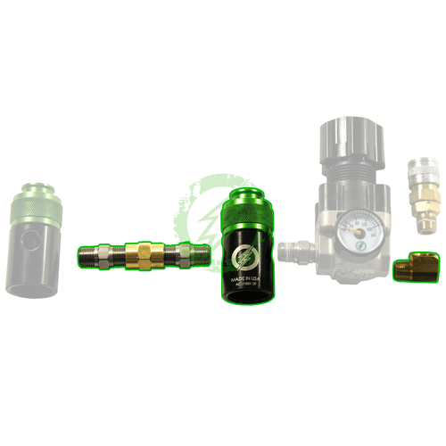 Amped Custom - Dual Tank Upgrade Kit for Existing Regulators (Compact for up to 26/3000 Tanks)