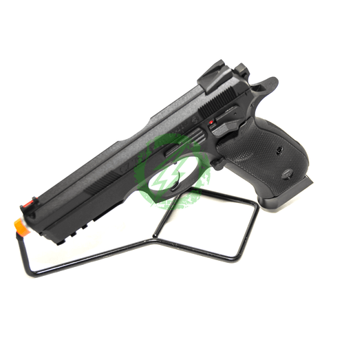 Action Sport Games - CZ SP-01 Shadow Gas Blowback Airsoft Pistol Black side