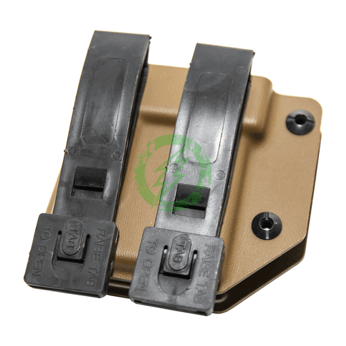MC Kydex - Universal M4/AR Magazine Carrier | Coyote Brown back