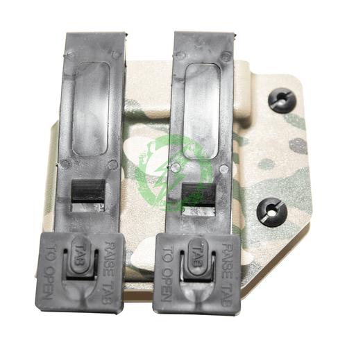 MC Kydex - Universal M4/AR Magazine Carrier | Multicam back
