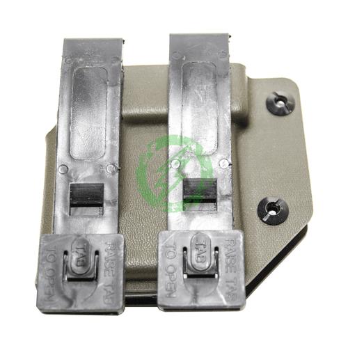Universal M4/AR Magazine Carrier | Olive Drab back