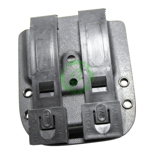 MC Kydex - UV-5R Standard Battery (Black) back