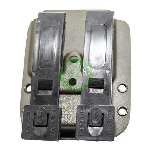 MC Kydex - UV-5R Standard Battery   Olive Drab back