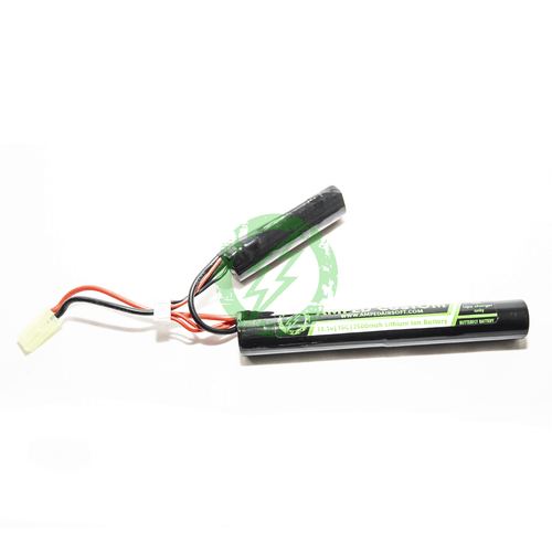 Amped Custom - 11.1v 2500mah 15C Li-Ion Battery Pack | Mini Tamiya / Butterfly
