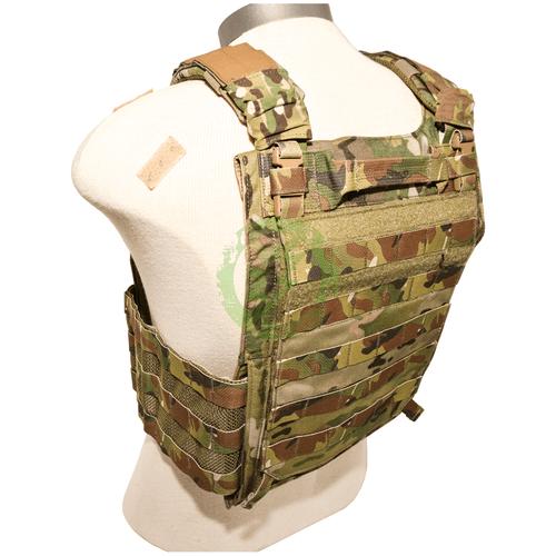 LBX Tactical | Armatus II Plate Carrier Multicam | Large back