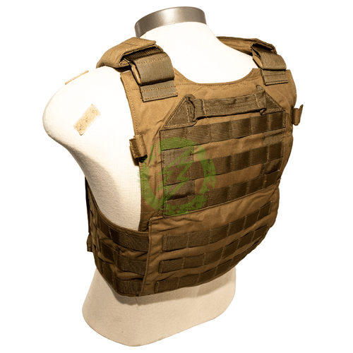 LBX Tactical - Modular Plate Carrier Coyote Brown | Medium back