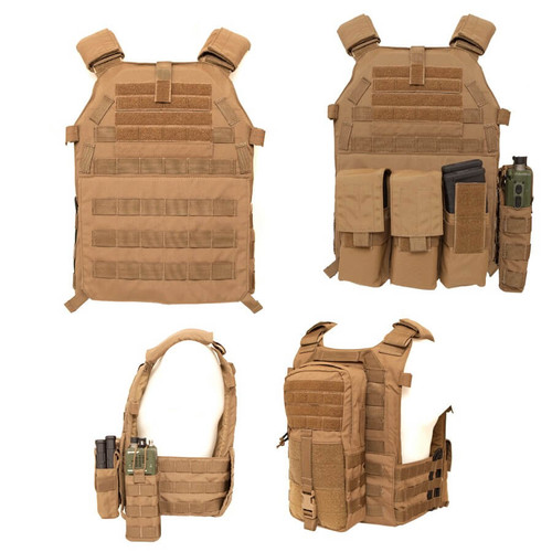 LBX Tactical Modular Plate Carrier (Coyote) all